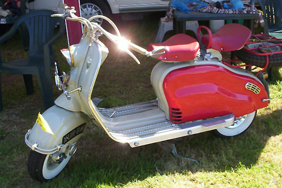 Lambretta LD at the 2nd Annual Bubblecar Museum Rally 2012