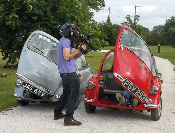 Filming Celebrity Antiques Road Trip for the BBC